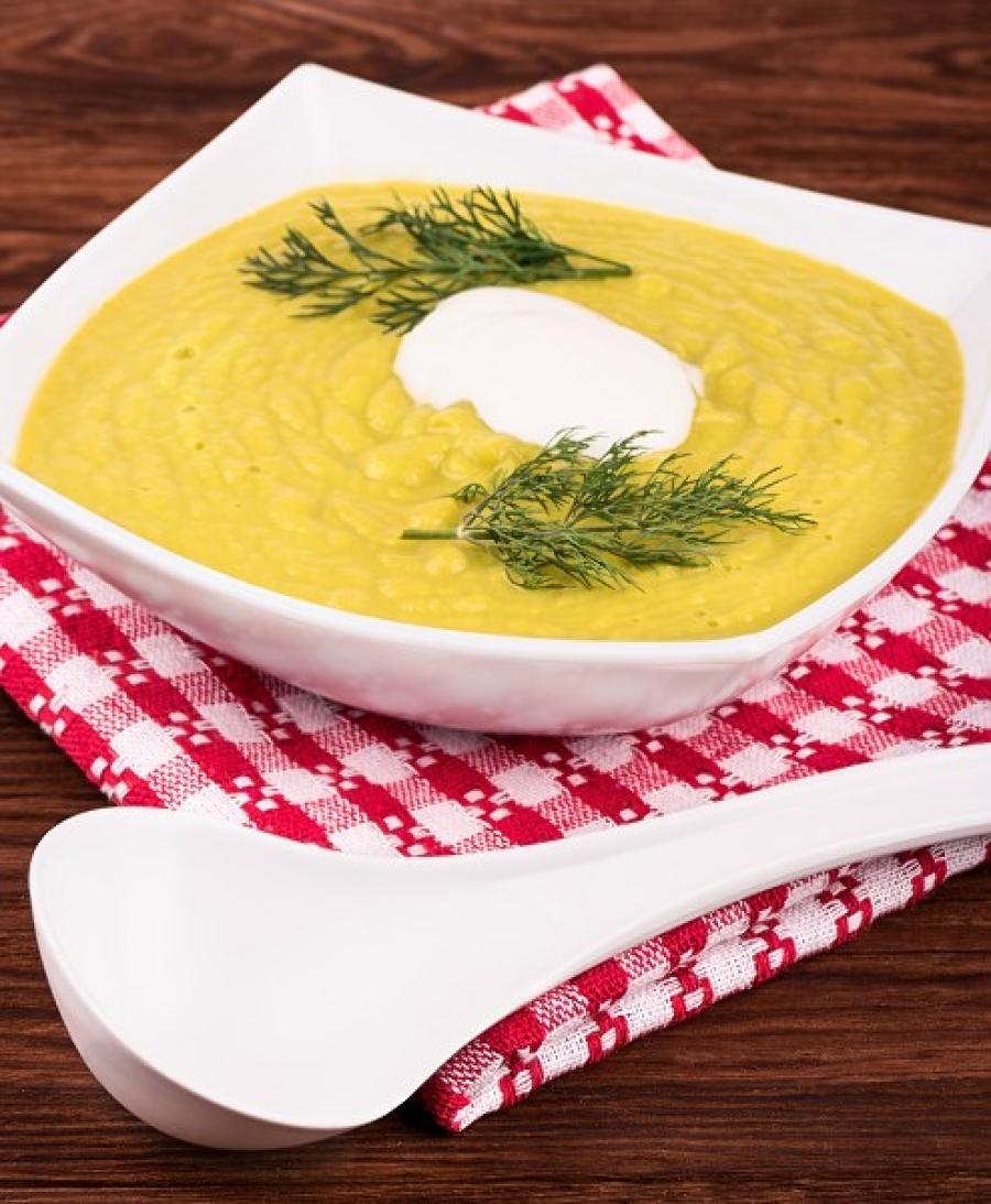 Słodka zupa selerowa