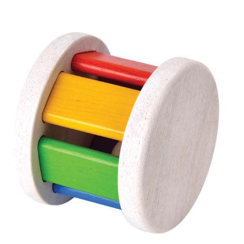 Drewniana grzechotka Roller, Plan Toys